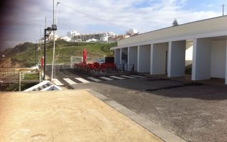 Construção Apoio  de Praia Santa Cruz