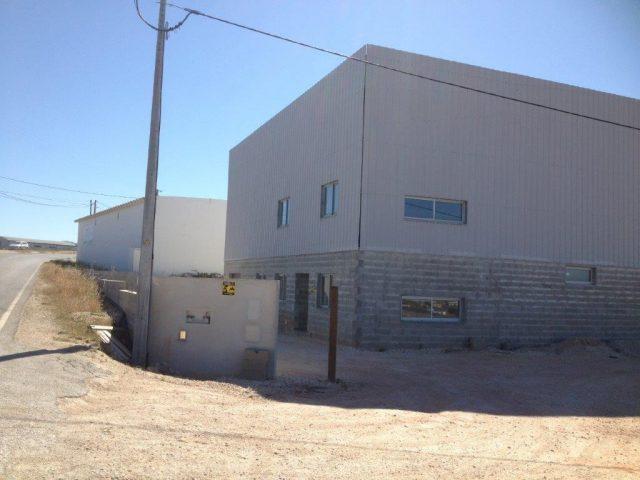 Construção de amazém industrial